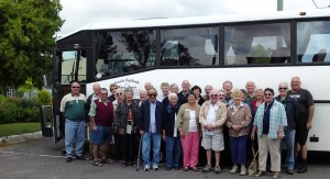 Coach group at the High Street Motel Stanthorpe
